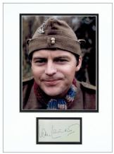 Ian Lavender Autograph Signed Display - Dad's Army